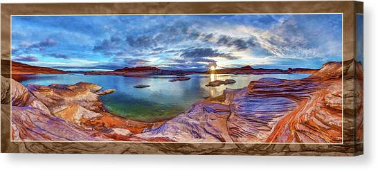 Nra Canvas Print - Sacred Rising by ABeautifulSky Photography by Bill Caldwell
