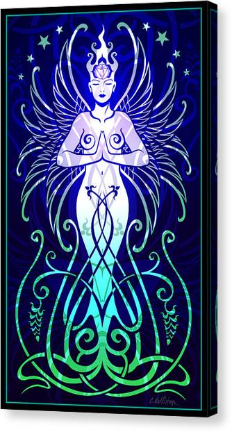 Fleur Canvas Print - Sacred State by Cristina McAllister