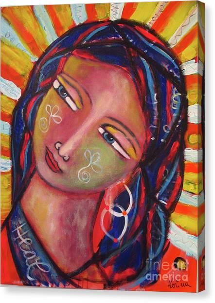 Sacred Traveler, Sacred Healer  Canvas Print