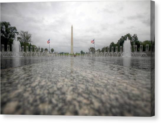 Washington Monument Canvas Print - Sacrifice by Mitch Cat