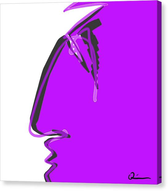 Sad Grape Canvas Print