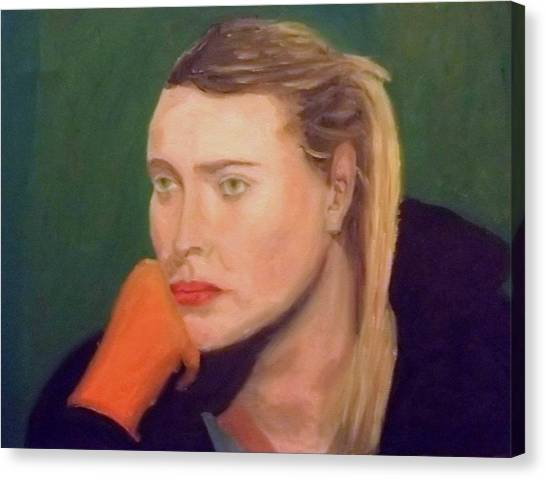 Maria Sharapova Canvas Print - Sad Maria by Peter Gartner