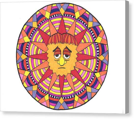 Sad Sunny Canvas Print