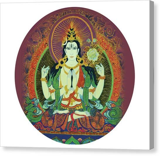 Sada Shiva  Canvas Print