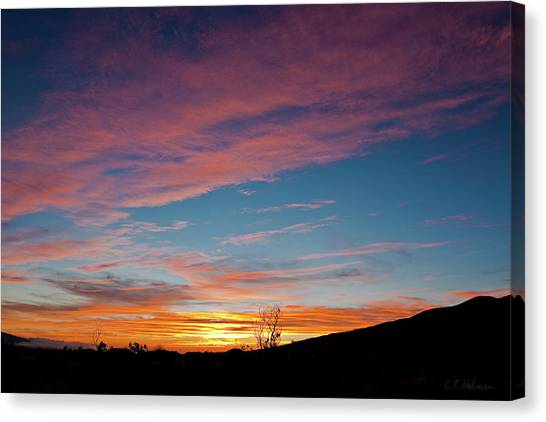 Saddle Road Sunset Canvas Print