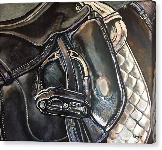 Saddle Study Canvas Print