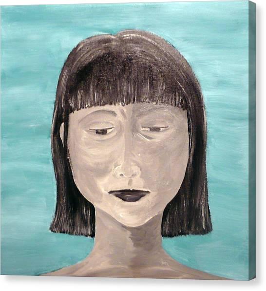 Sadness Canvas Print by Jennifer Hernandez