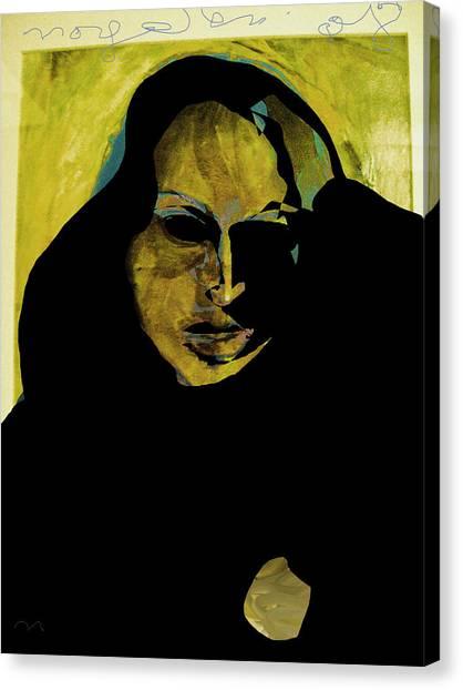 Sadness Canvas Print by Noredin Morgan