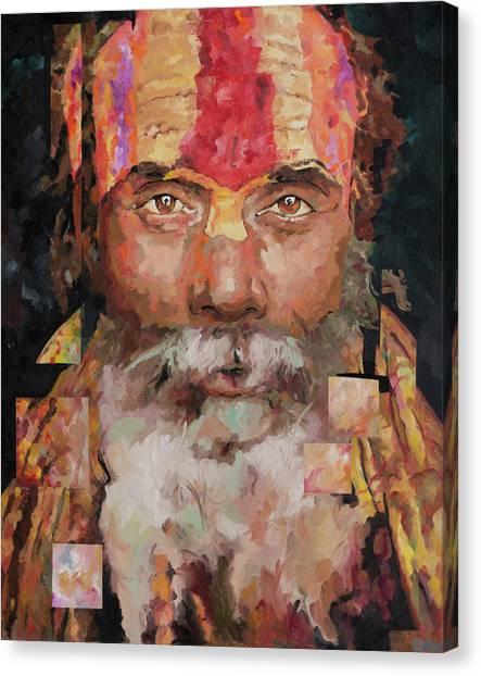 Yogi Canvas Print - Sadu  by Richard Day