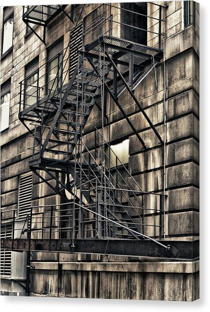 Chicago Fire Canvas Print - Safety by Jason Wolters