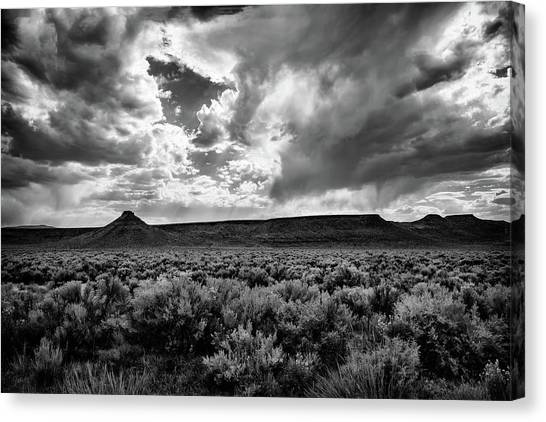 Sage And Clouds Canvas Print