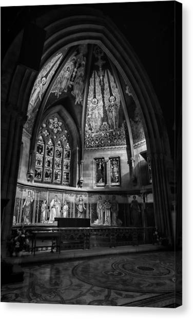 Cornell University Canvas Print - Sage Chapel Altar by Stephen Stookey