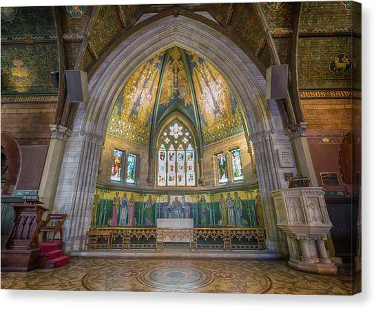 Cornell University Canvas Print - Sage Chapel - Cornell by Stephen Stookey