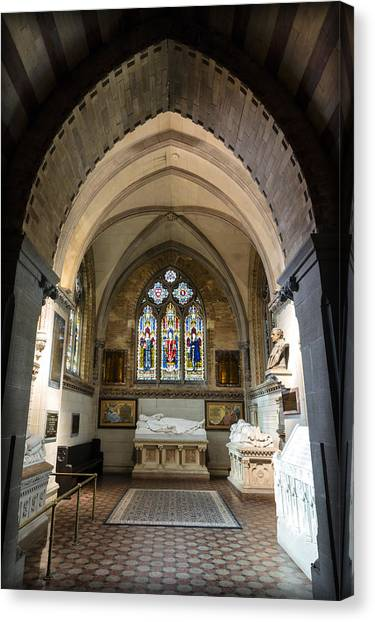Cornell University Canvas Print - Sage Chapel Memorial Room by Stephen Stookey