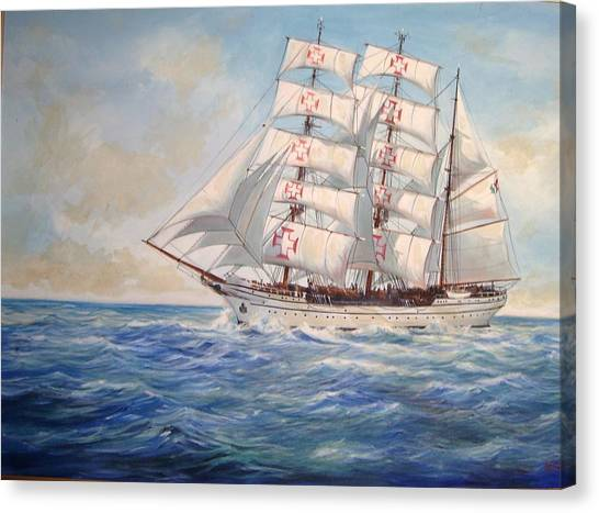 Sagres Canvas Print