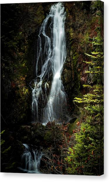 Sahale Falls Canvas Print
