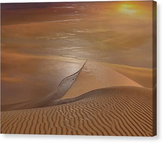 Arabian Desert Canvas Print - Sahara Sands by Scott Mendell