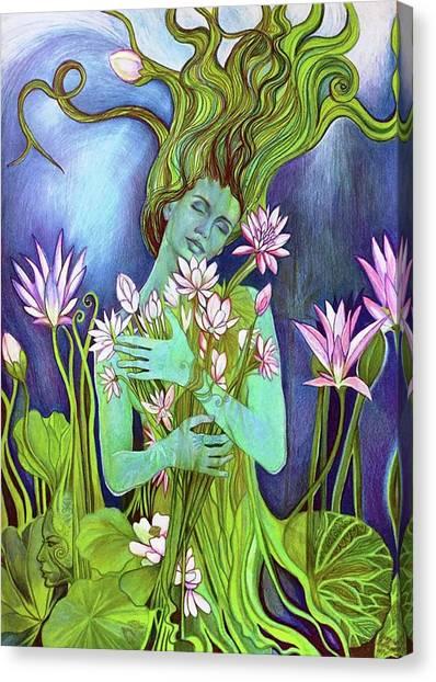 Sahasrara Canvas Print