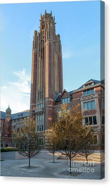 Mba Canvas Print - Saieh Hall For Economics by Jannis Werner