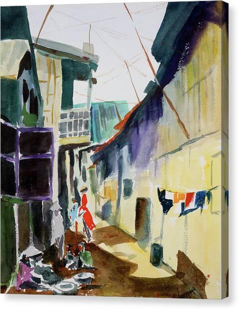 Saigon Alley Canvas Print