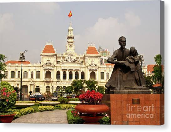Canvas Print - Saigon People's Committee Building 03 by Rick Piper Photography