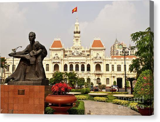 Canvas Print - Saigon People's Committee Building 04 by Rick Piper Photography