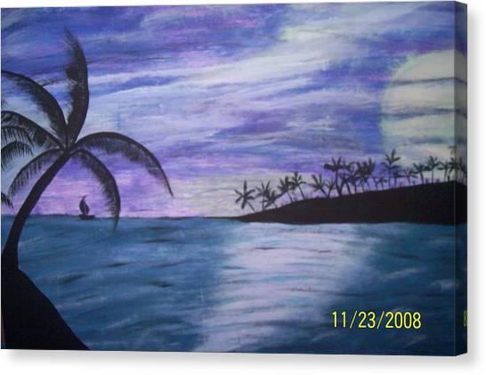 Sail On Canvas Print by Paula Ferguson