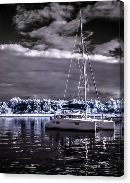 Sailboat 02 Canvas Print