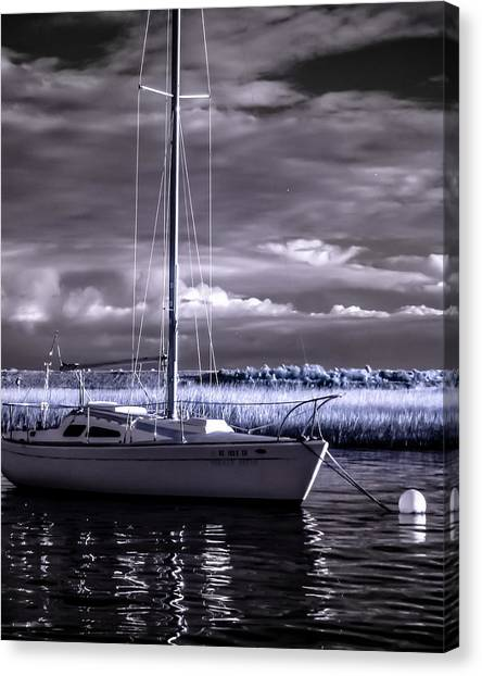 Sailboat 03 Canvas Print