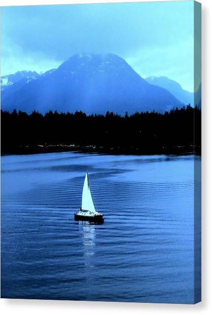 Sailboat 1 Canvas Print