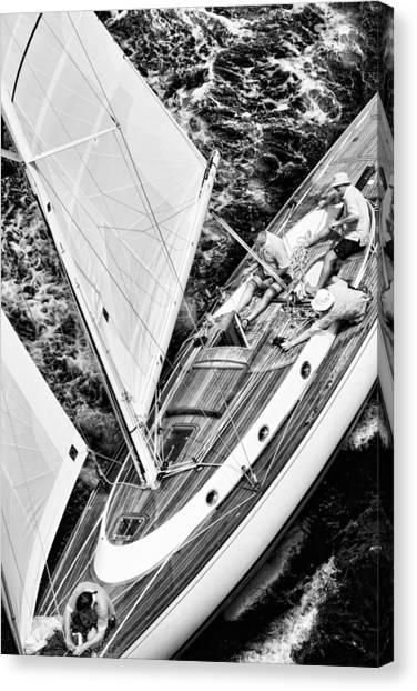 Sailing A Classic Canvas Print