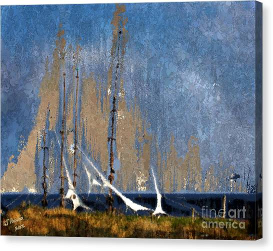 Van Goughs Ear Canvas Print - Sailing by Arne Hansen