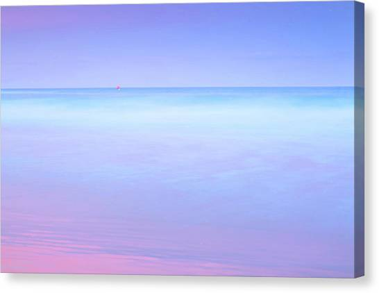 Australian Beach Canvas Print - Sailing Away by Az Jackson