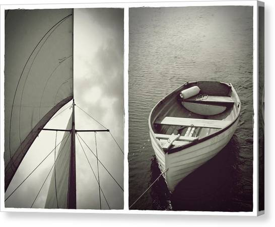 Sailing Diptych Canvas Print