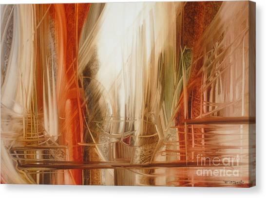 Sailing Canvas Print by Fatima Stamato