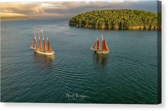 Sailing Frenchman Bay Canvas Print