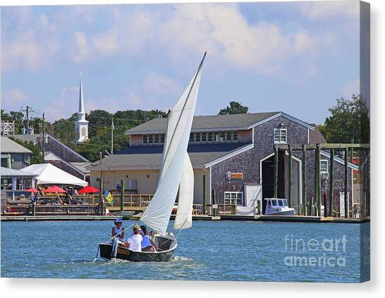 Sailing The Dorothy Canvas Print