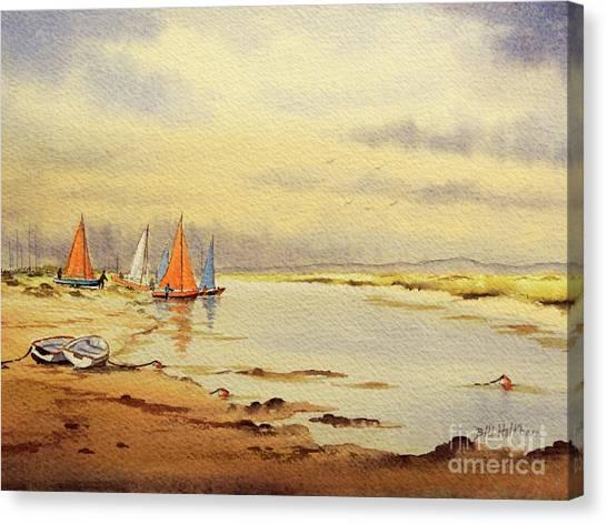 Jibbing Canvas Print - Sailing Time by Bill Holkham