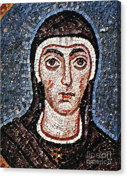 Early Christian Art Canvas Print - Saint Felicity (d. 203) by Granger