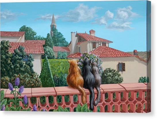 Saint-frajou. August. Canvas Print