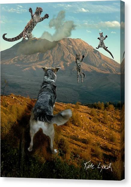 Saint Helens Cats Canvas Print