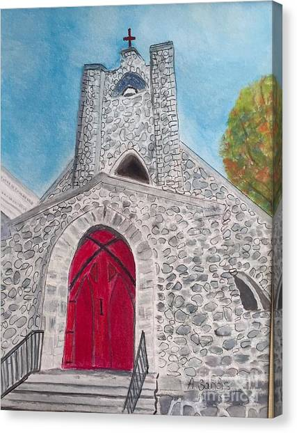 Saint James Episcopal Church Canvas Print