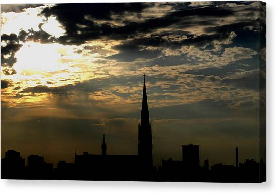 Saint Johns Sunrise Canvas Print