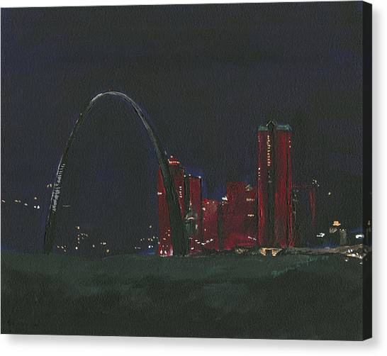Saint Louis Skyline Canvas Print