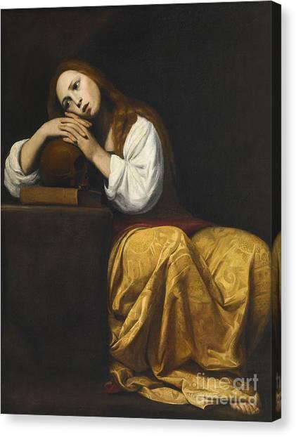 St Mary Canvas Print - Saint Mary Magdalene by Giovanni Antonio Galli