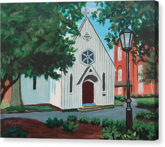 Saint Mary's Chapel Canvas Print