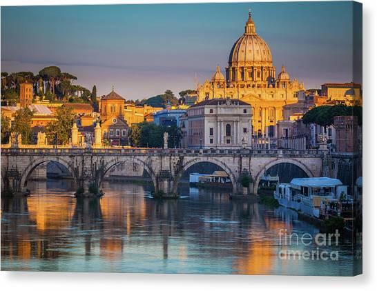 Saint Peters Basilica Canvas Print