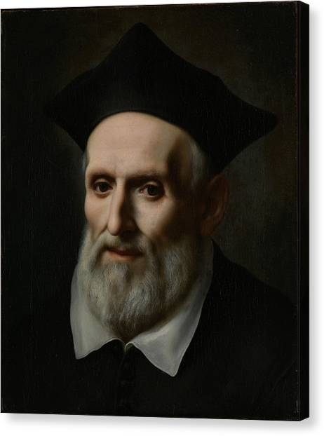 Baroque Art Canvas Print - Saint Philip Neri by Treasury Classics Art