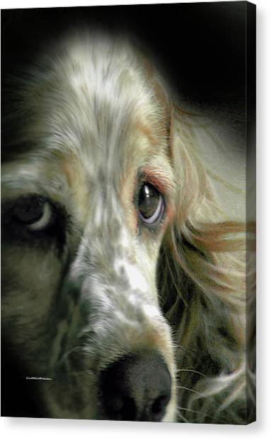 Saint Shaggy Art 9 Canvas Print