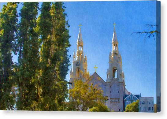 Saints Peter And Paul Church Canvas Print